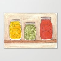 Canning Canvas Print