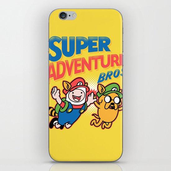 Super Adventure Bros iPhone & iPod Skin