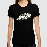 Yip Yip Womens Fitted Tee Black SMALL