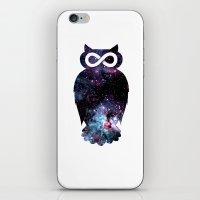 Super Cosmic Owlfinity iPhone & iPod Skin