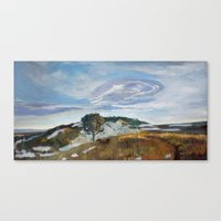 M Hill Canvas Print