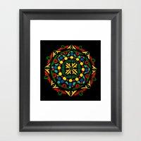 Dala 1 Framed Art Print