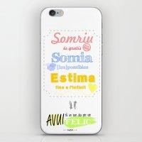 {CAT} SOMRIU · SOMIA ·… iPhone & iPod Skin