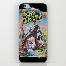 Army of Darkness: Pulped Fiction edition iPhone & iPod Skin