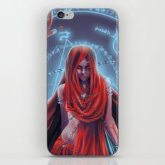 Blood witch iPhone & iPod Skin