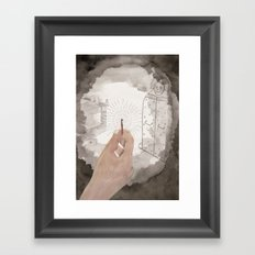 The Bloody Chamber Framed Art Print