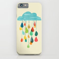 cloudy with a chance of rainbow iPhone 6 Slim Case