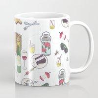 messy picnic Mug