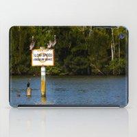 Manatee Zone iPad Case