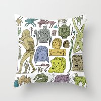 gefgefgefgefgef Throw Pillow