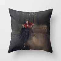 Helplessly Lost Throw Pillow
