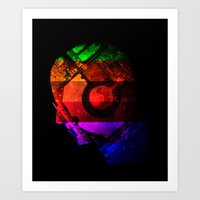 Creating Jobs Art Print
