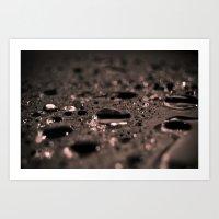 Rain Was Here Art Print