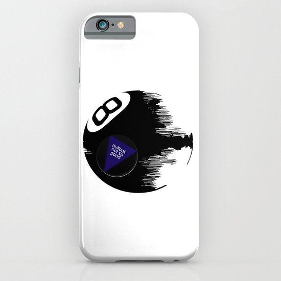Damaged Magic 8 Ball iPhone & iPod Case