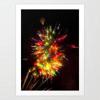 Efflorescence 10 Art Print