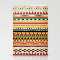 aztec Stationery Cards featuring  AZTEC by Allyson Johnson