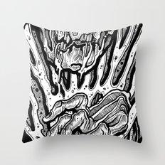hypocracy board Throw Pillow