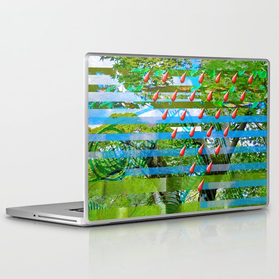 Landscape of My Heart (segment 2) Laptop & iPad Skin