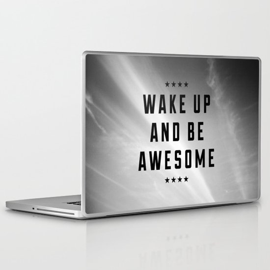 Be Awesome II Laptop & iPad Skin