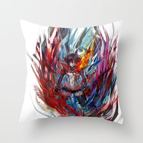 Ryuko Matoi Throw Pillow