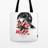 HARD WORK. Tote Bag