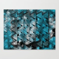 TriangleTracts Full Bleed... Canvas Print