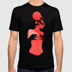 Black gloves Black SMALL Mens Fitted Tee