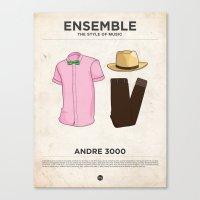 Ensemble - Andre 3000 Canvas Print