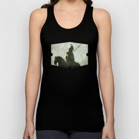 Horrified By The Sun Unisex Tank Top