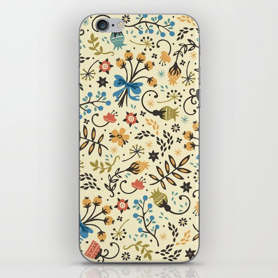 Floral Bloom iPhone & iPod Skin