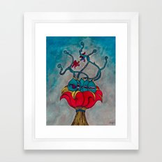 Schizo Framed Art Print