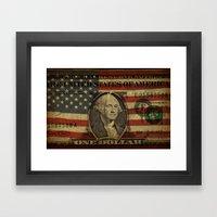 Let Freedom Ring Framed Art Print