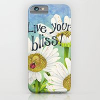 iPhone & iPod Case featuring Live Your Bliss by Jennifer Lambein