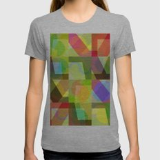 Colorful Truth. Shuffle 1 Womens Fitted Tee Athletic Grey SMALL
