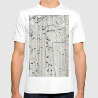Aspen I Mens Fitted Tee White SMALL
