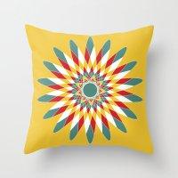 Kaleidoscope Quilt 2 Throw Pillow