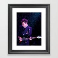 Jamie Hince // The Kills Framed Art Print