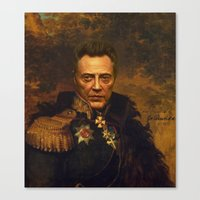 Christopher Walken - replaceface Canvas Print