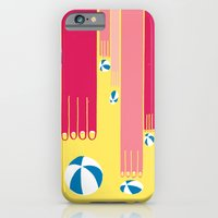 iPhone & iPod Case featuring I can bowl a ball, many times in a row. by Ivan Solbes