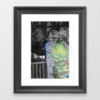 Fascinator Framed Art Print