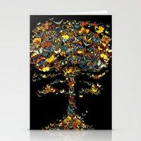 Atomic Butterfly Stationery Cards