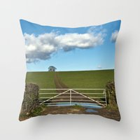 A Place For The Public..… Throw Pillow
