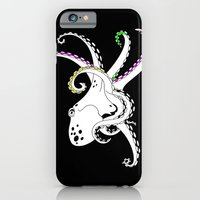 iPhone Cases featuring Octopus by mailboxdisco