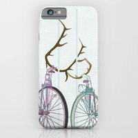 Bicycles in Love iPhone 6 Slim Case