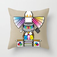 Graphic Design For All L… Throw Pillow