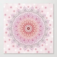 SUMMER MANDALA Canvas Print