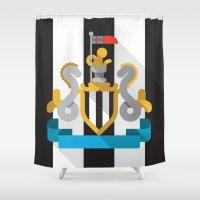 NUFC Shower Curtain