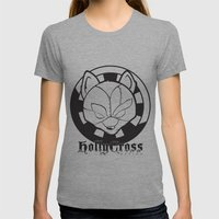 Starfoxxx BW Womens Fitted Tee Athletic Grey SMALL