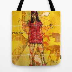 Vintage 76 (motion) Tote Bag