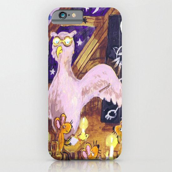 Class with Owl teacher iPhone & iPod Case